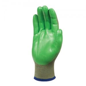 Showa 4552 Green Biodegradable Nitrile Foam Palm Coated